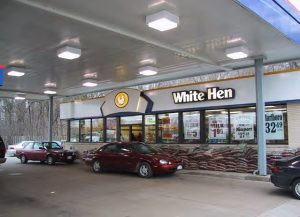 custom metal building gas station